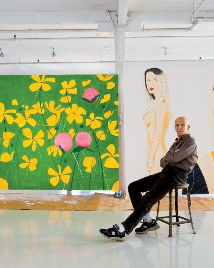 Painter Alex Katz Studio