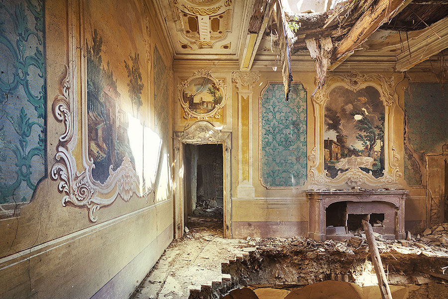 Photographer Sven Fennema captures striking images of abandoned buildings throughout Europe.