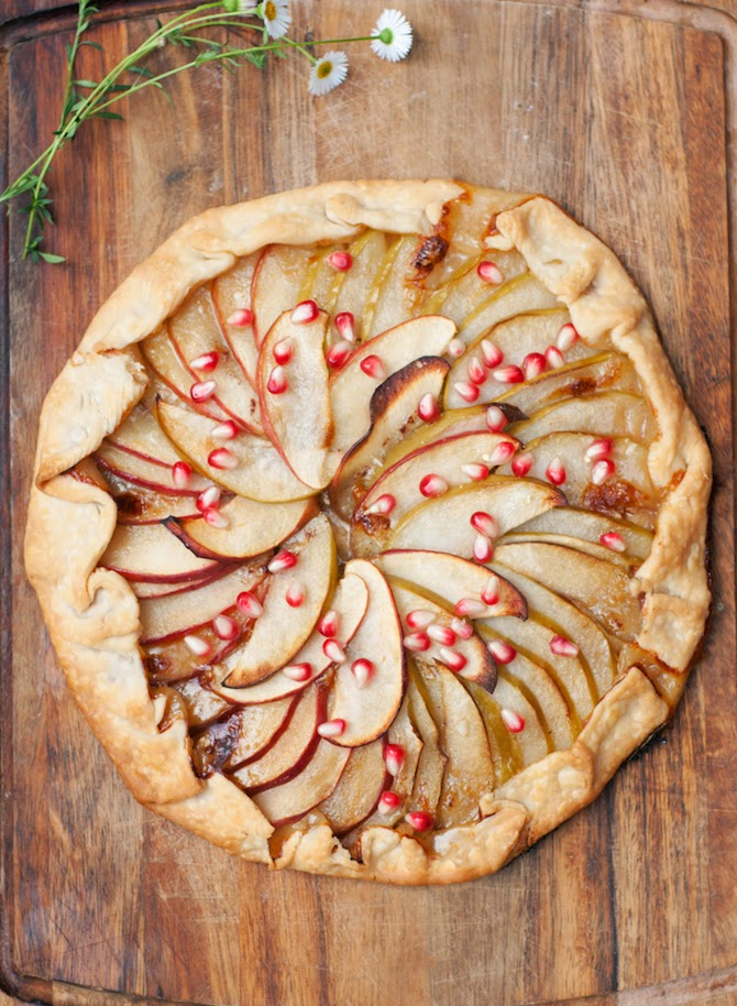 Delicious Apple & Honey Galette