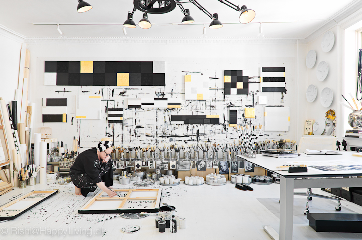 Inside Artist Tenka Gammelgaard's Studio