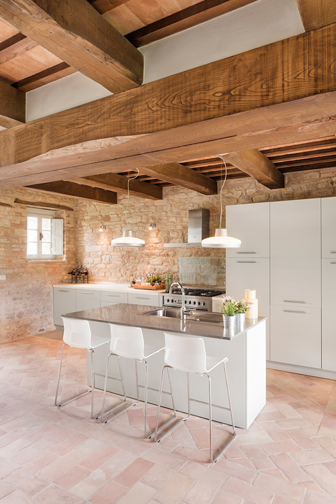 Beautiful Italian Villa by Roy David Studio