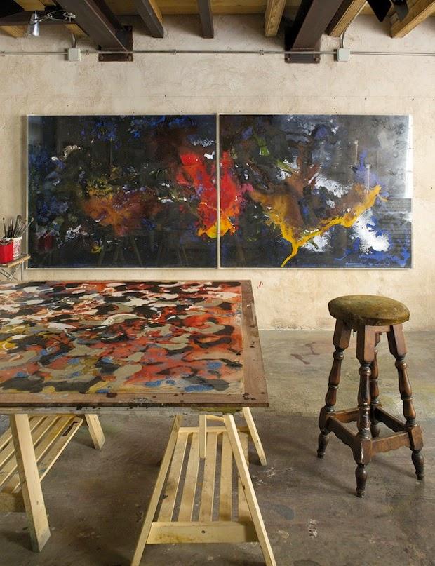 Artist and businesswoman Carla Tarruella's Barcelona home