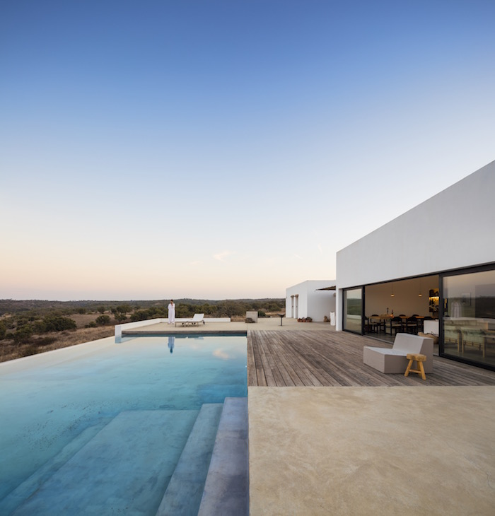 Inside a house in Portugal that combines Indoor and Outdoor living