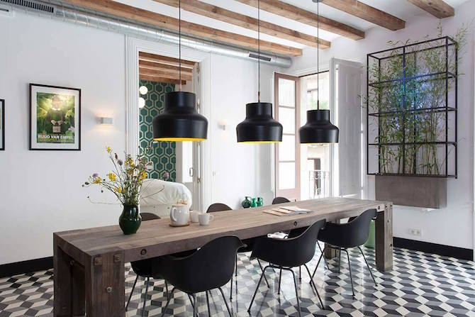 Contemporary Apartment in Barcelona