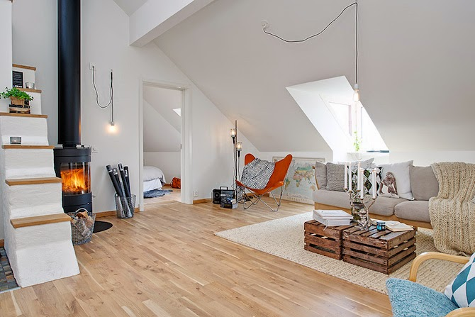 Dreamy Loft design inspiration in Sweden