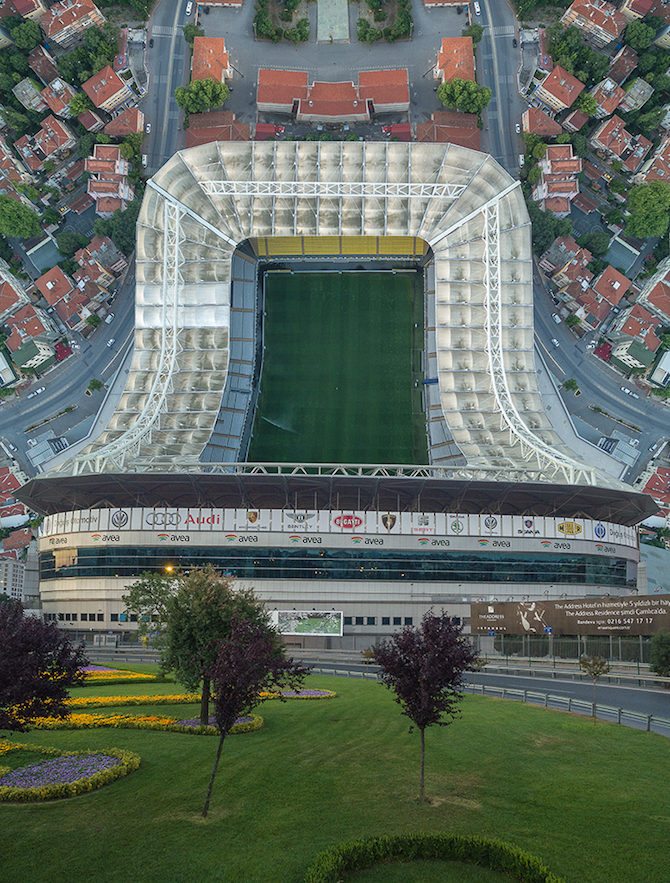 Stunning Aerial Photographs of Istanbul