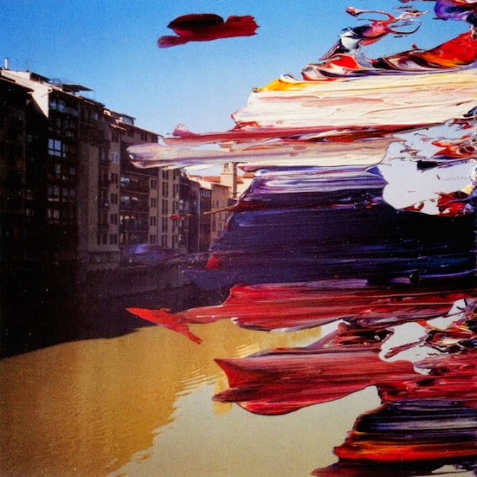 Overpainted Photographs by Gerhard Richter