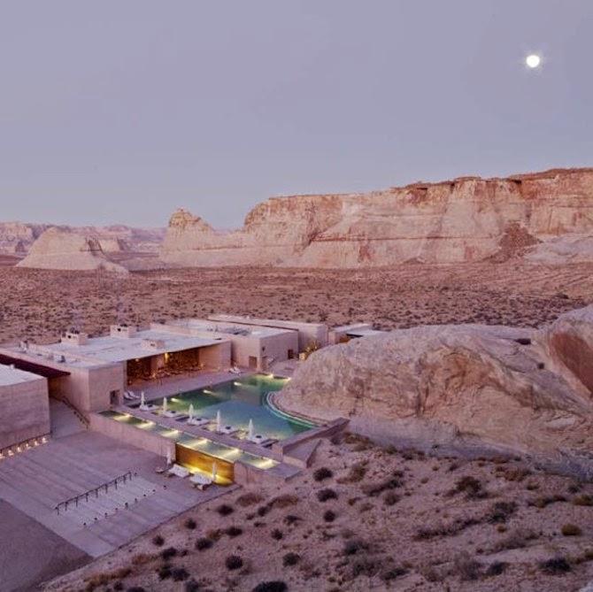 Hotel-desert