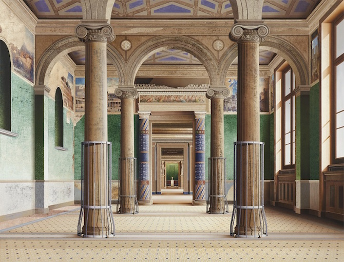 Artist Ben Johnson creates Amazing Photorealist Paintings of Architectural Spaces