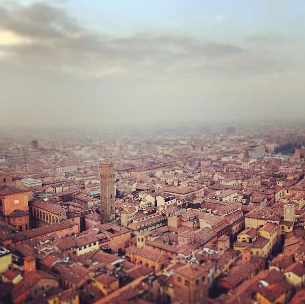 Mininature Bologna, Italy by Matteo Fagiolino