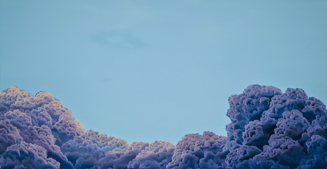 Mesmerizing Cloudscape Paintings by Laura Guese