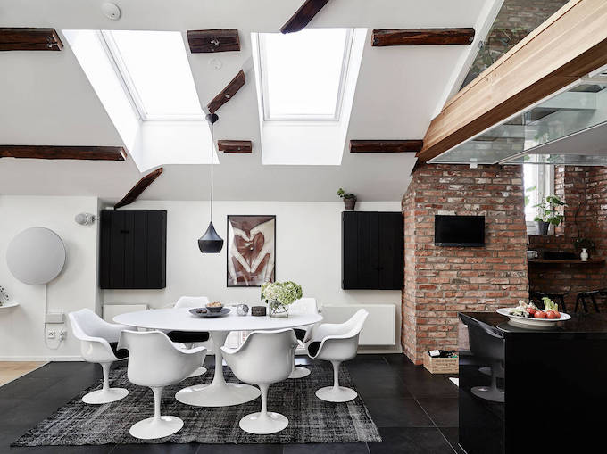 Bright and Spacious Attic Apartment