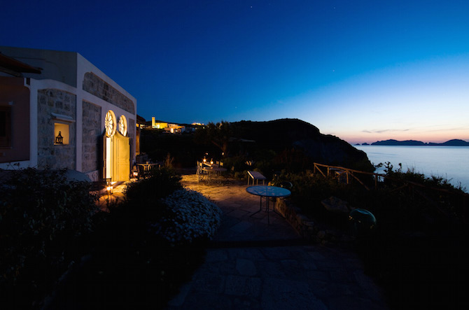 Gorgeous Villa Madonna on the Island of Ponza