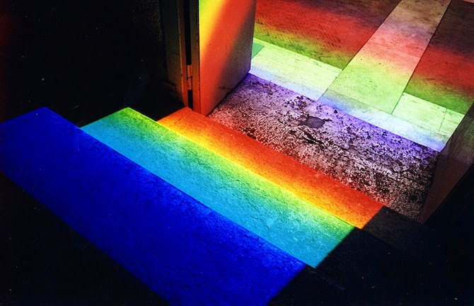 Artist Transforms Spaces With Laser-Cut Prisms
