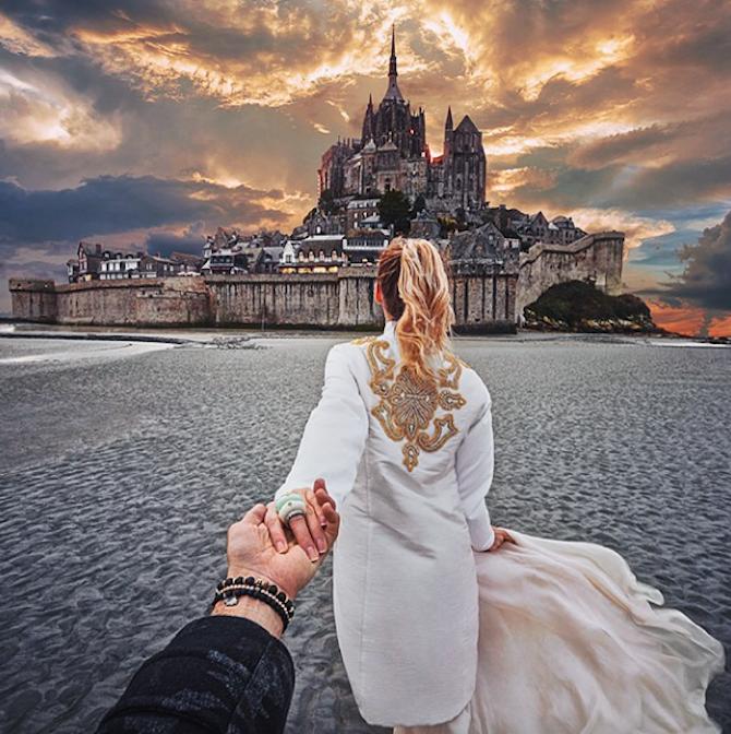 Photographer Murand Osmann's Girlfriend Leads Him Across the Globe