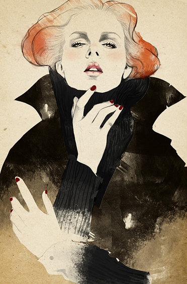 Fashion Illustrator Sandra Suy
