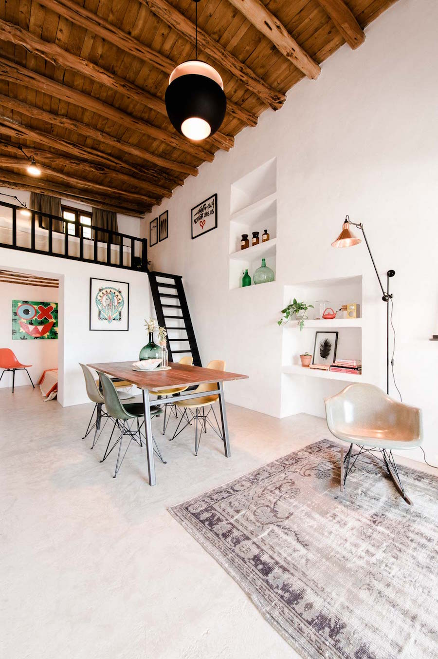 Old Stable Transformed into a Contemporary Dream House