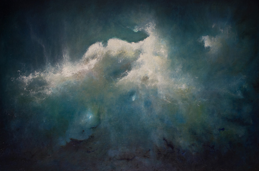 Atmospheric Storms by Artist Derek Kaplan