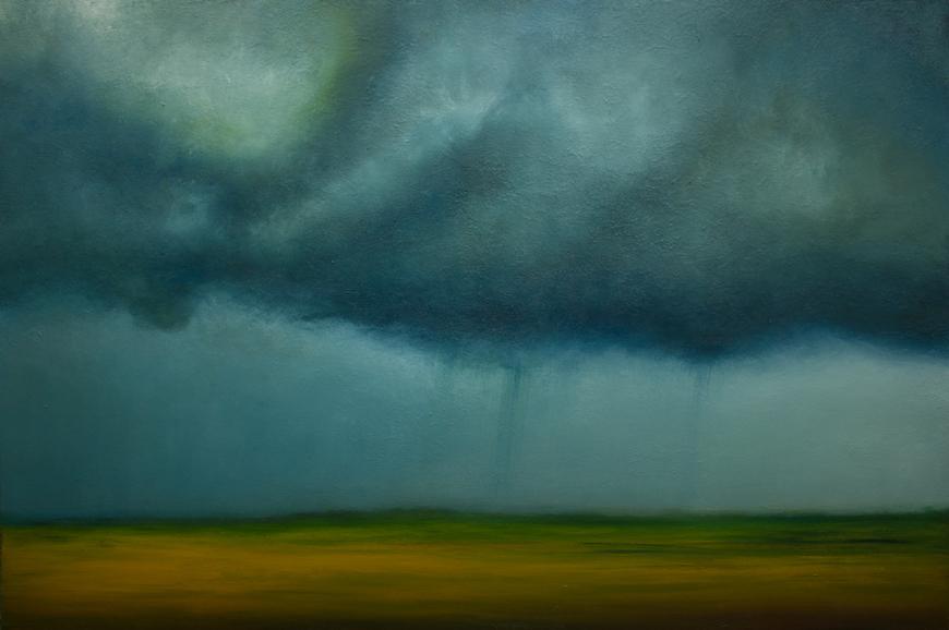 Atmospheric Storms by Artist Derek Kaplan
