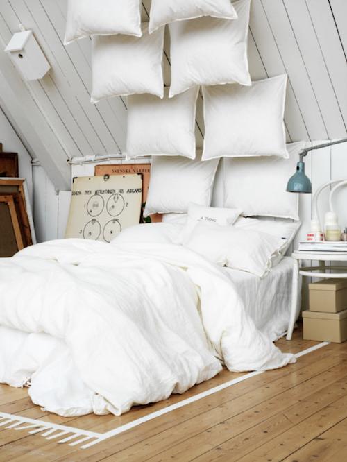 Ideal Artist Studio Bedding Pillows