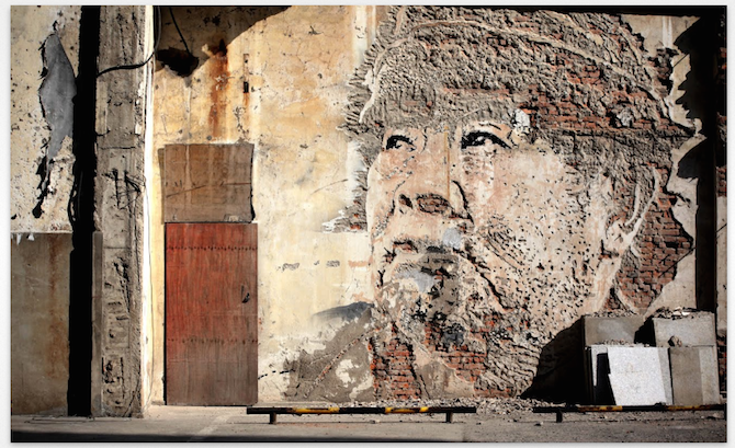 Street Art meets Google Street Art Project