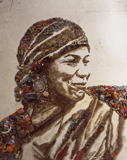 Brazilian Artist Vik Muniz's Wasteland