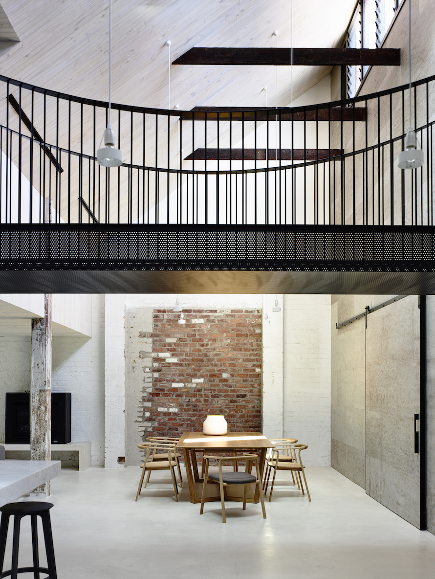 Chocolate Factory transformed into a Home by Architects EAT