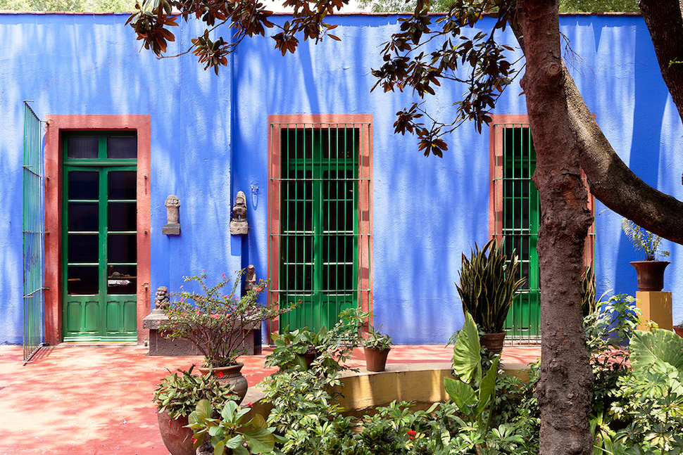 Inside Frida Kahlo's Home Casa Azul