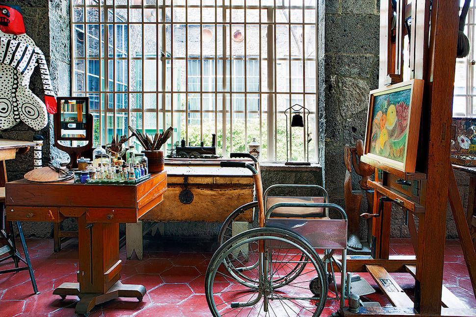 Inside Frida Kahlo's Home Casa Azul