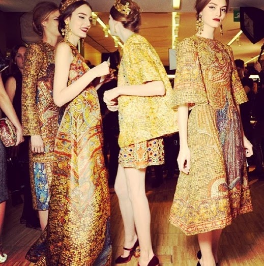 Byzantine Art Meets Fashion