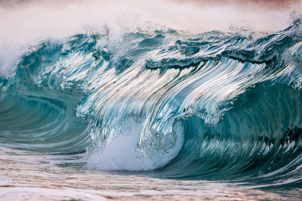 "In his poetic photography series called ""AquaViva,"" photographer Pierre Carreau aims to depict the powerful energy of the oceans waves."