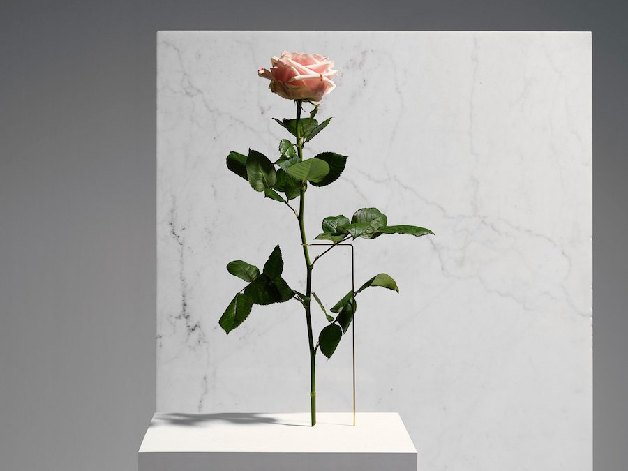 Posture Vases is a captivating collaborative series of creative, minimal flower vases.