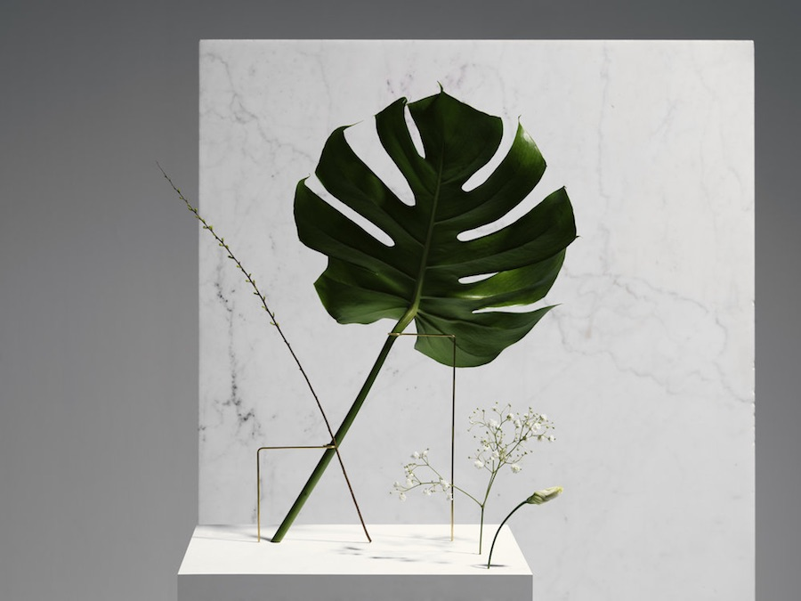 Posture Vases is a captivating collaborative series of creative, minimal flower vases by Bloc Studios and Carl Kleiner.
